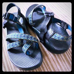 Chaco toe sport sandal in multi-weave women's sz 9